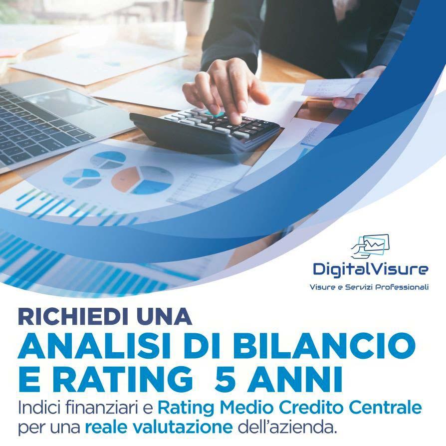 Analisi Bilancio E Rating 5 Anni Online