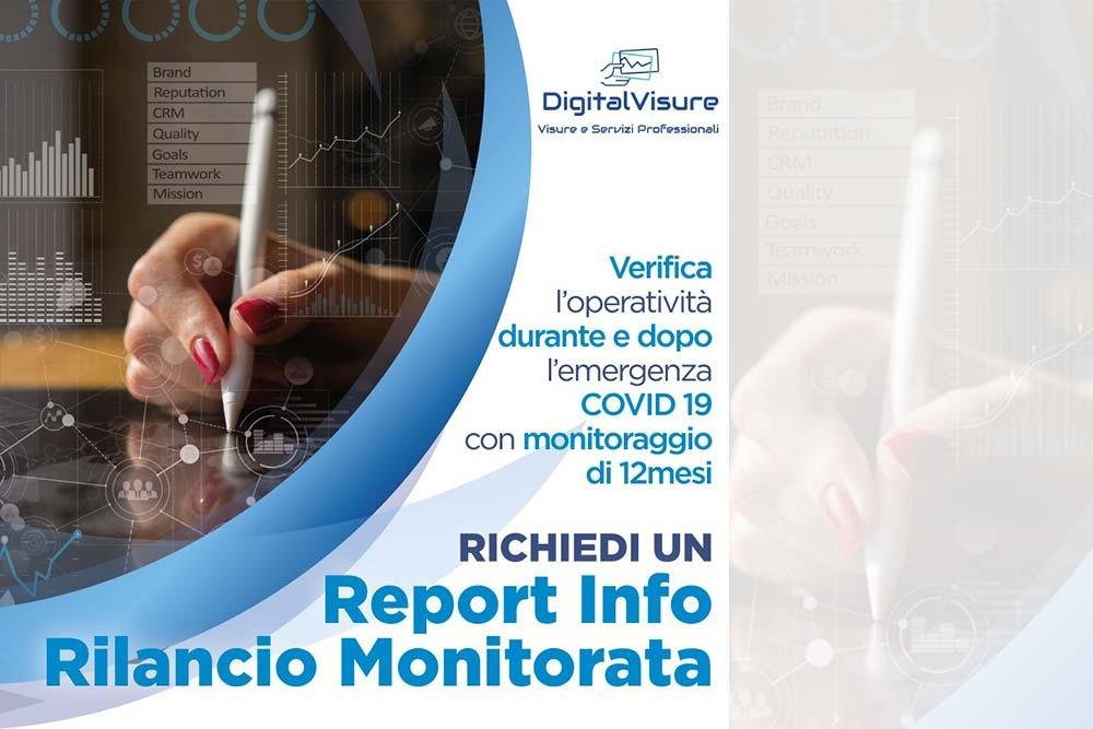Report info rilancio monitorata online