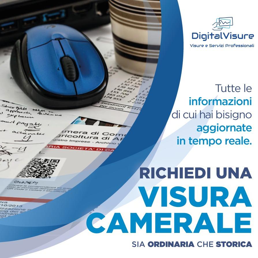 Visura camerale online su DigitalVisure.it