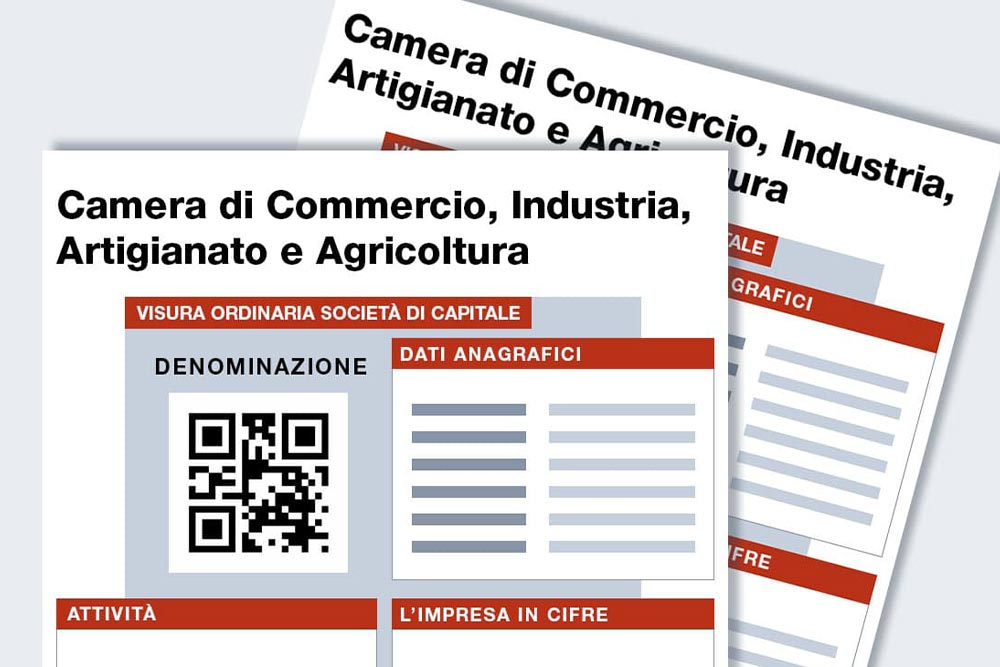 Visura camerale online camera di commercio