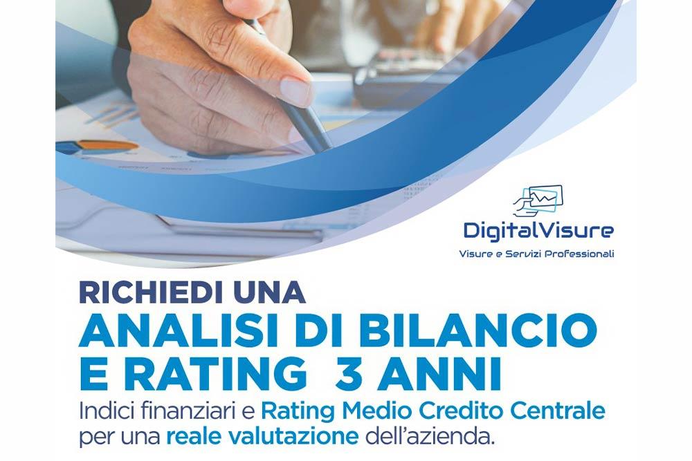 Report Bilanci Aziende Digital Visure